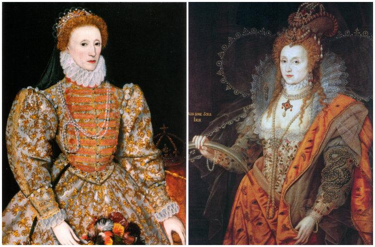 Isabel I era fanática de los labios rojos