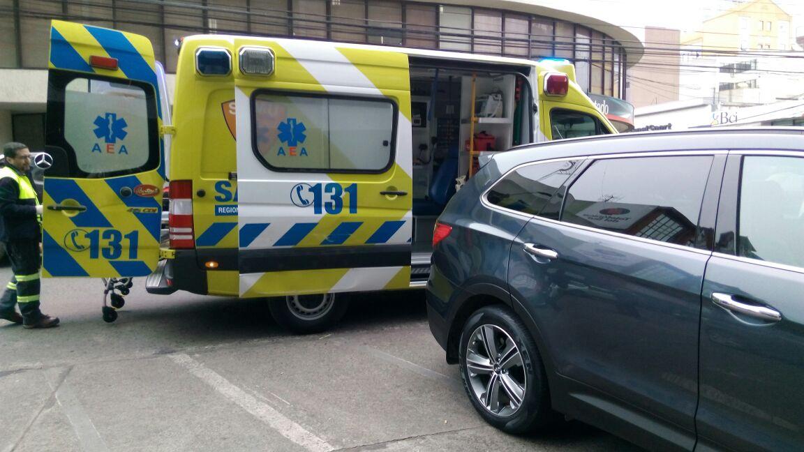 Una mujer fue apuñalada tras asalto en el centro de Temuco