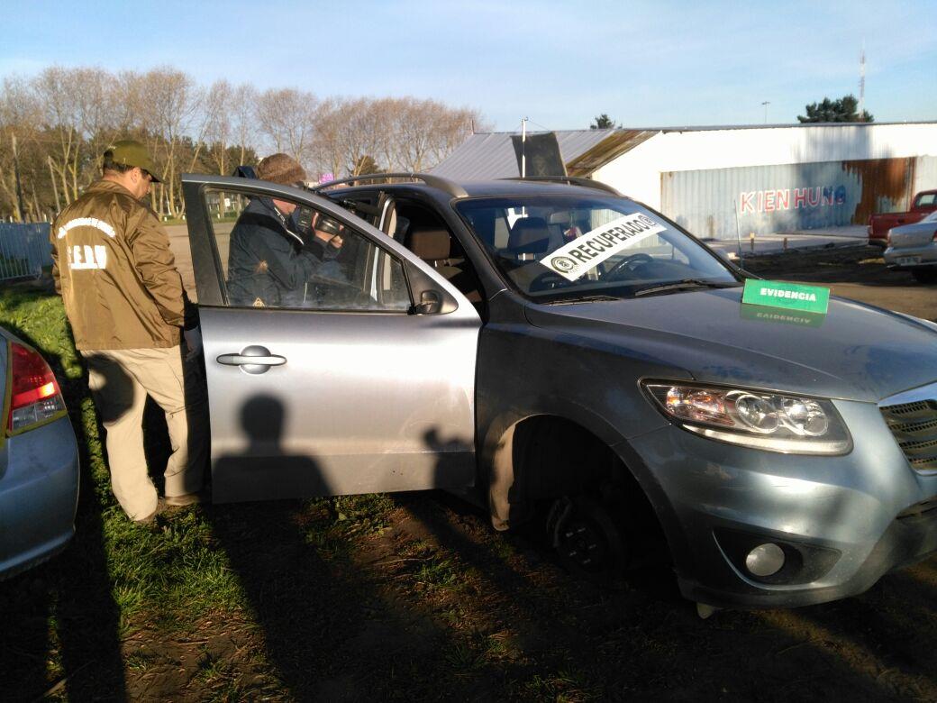 Recuperan vehículo robado en Concepción