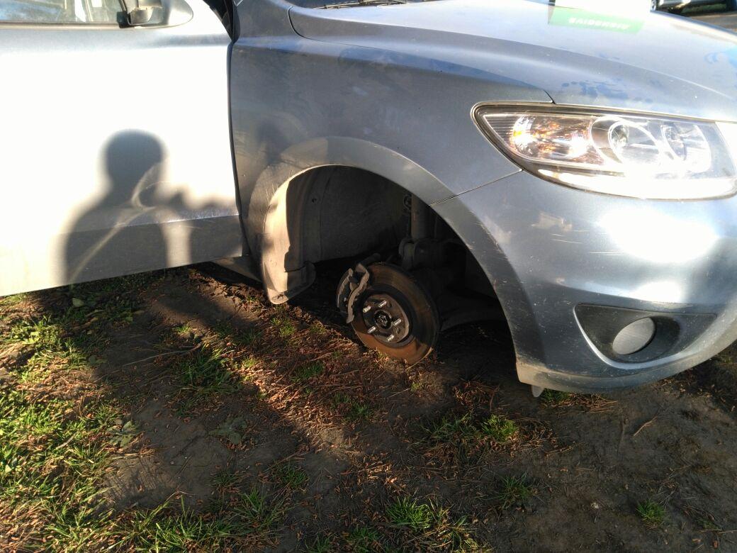 Vehículo robado en Concepción estaba siendo desarmado