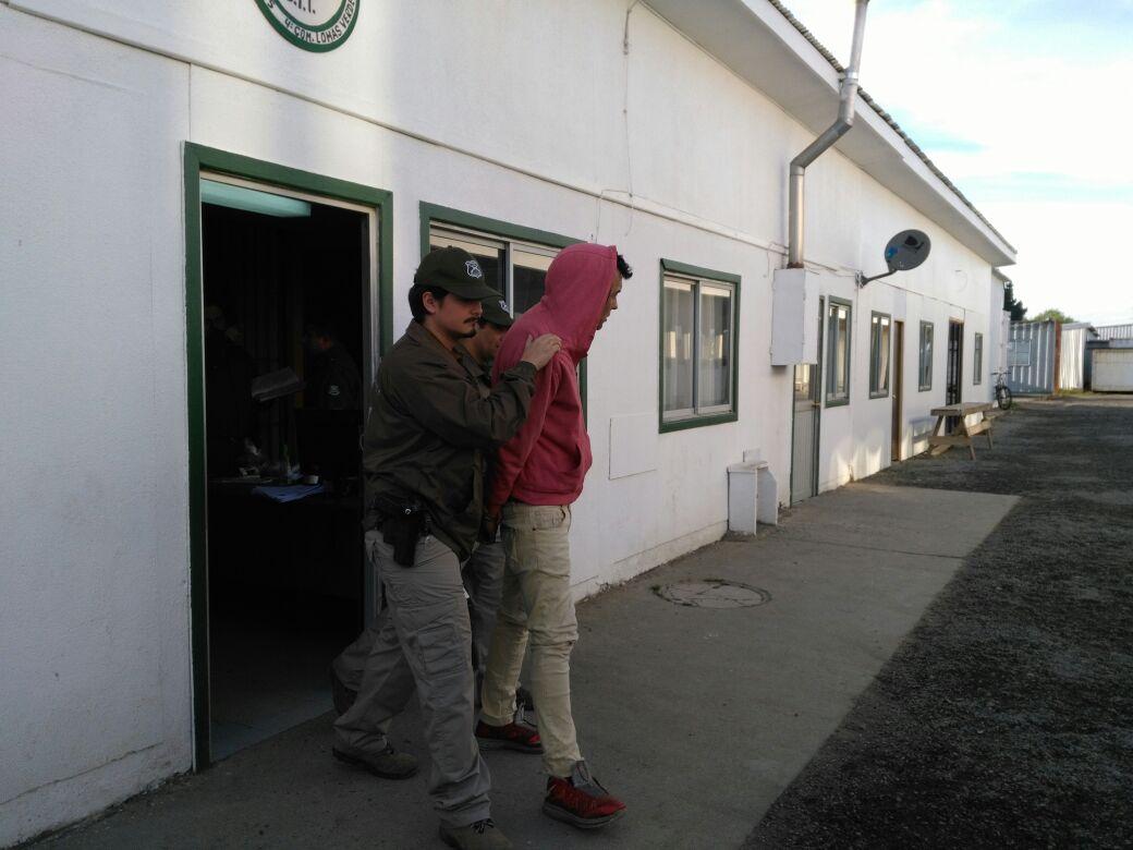 Detenidos por receptación de vehículo robado en Concepción