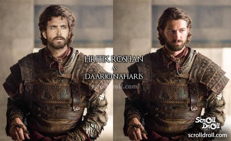 Así se verían los personajes de Game of Thrones con actores de Bollywood
