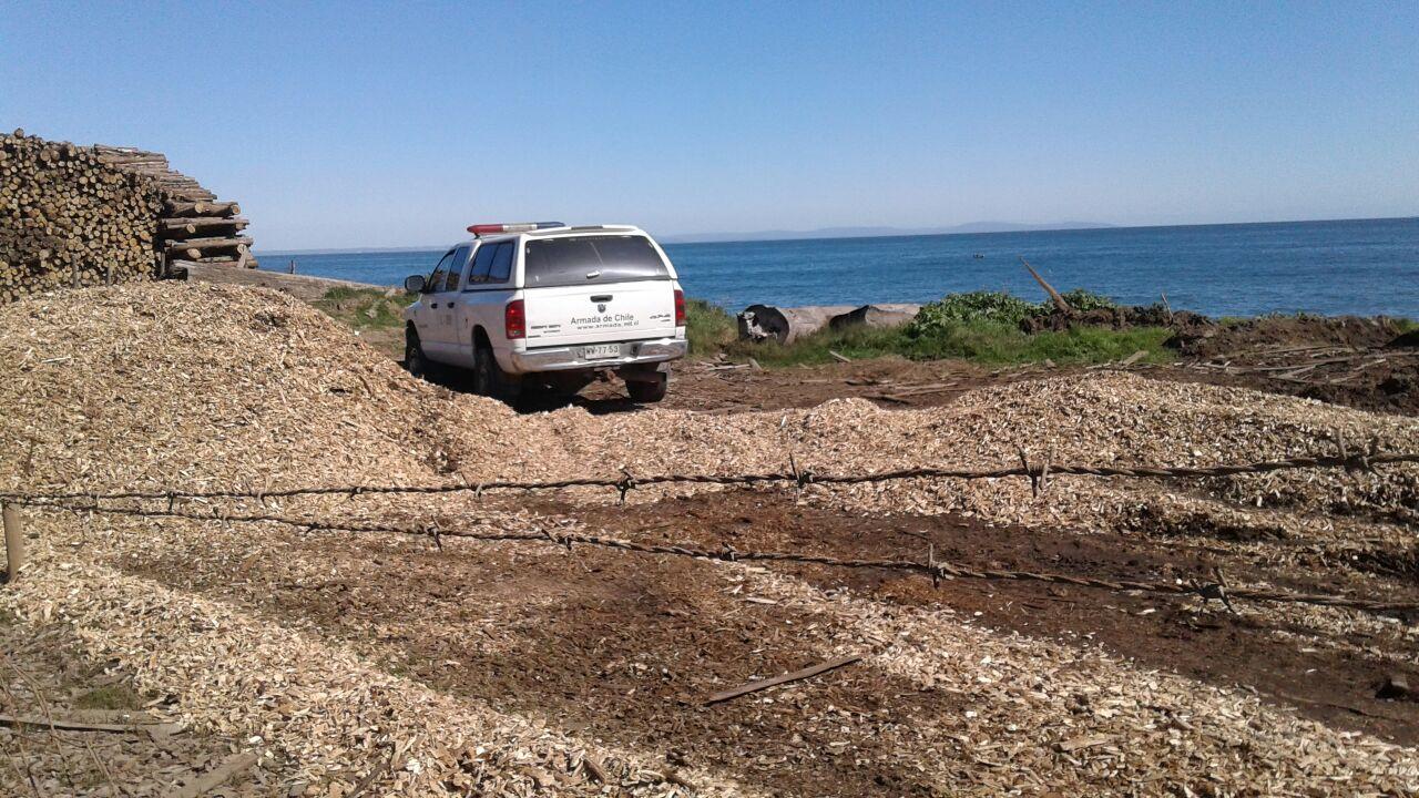 Investigan hallazgo de cadáver en playa Schwager de Coronel