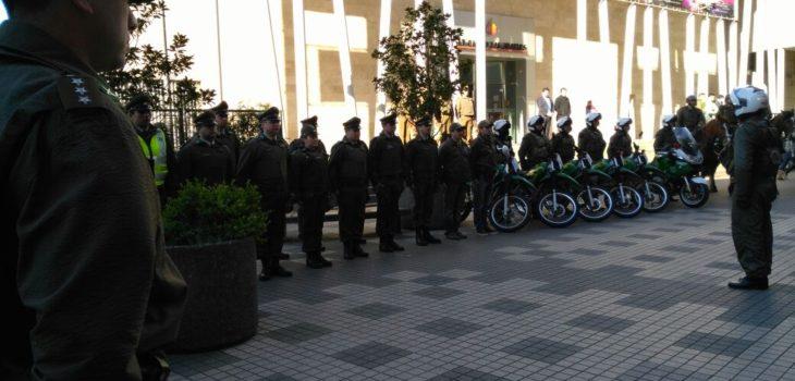 Carabineros de Los Ángeles lanzó servicios especiales de Fiestas Patrias
