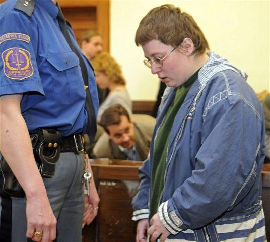 Barbora Škrlová en su juicio
