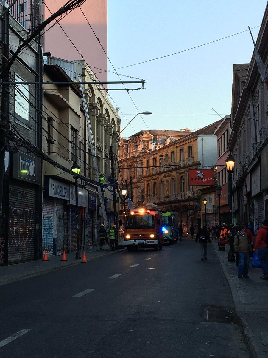 Operativo en calle Esmeralda