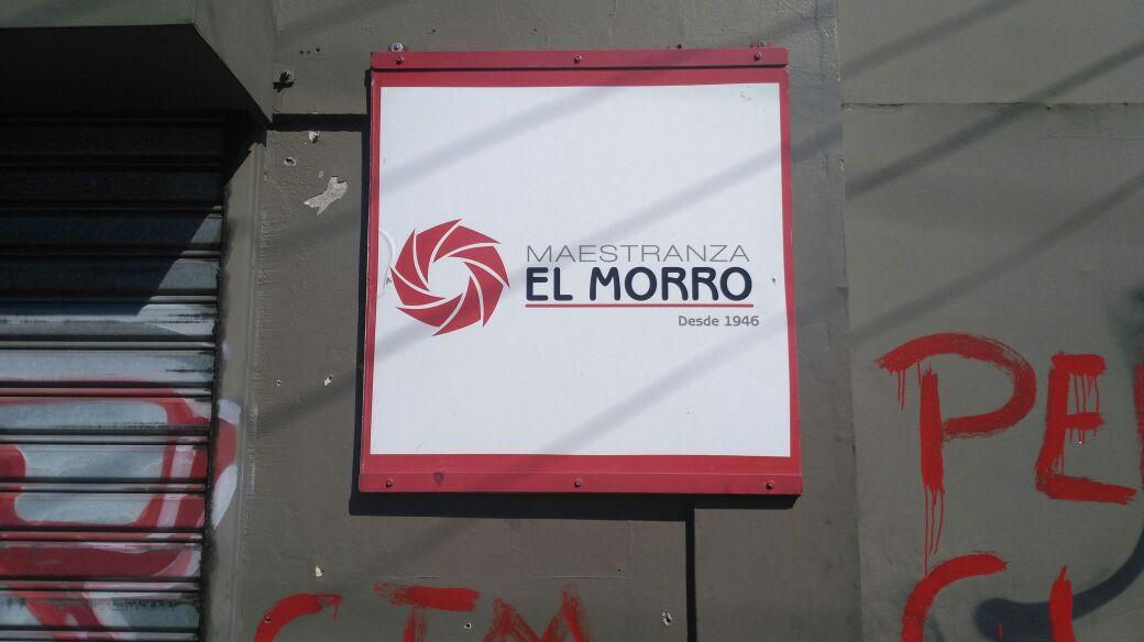 Frontis de Maestranza El Morro rayado tras cierre