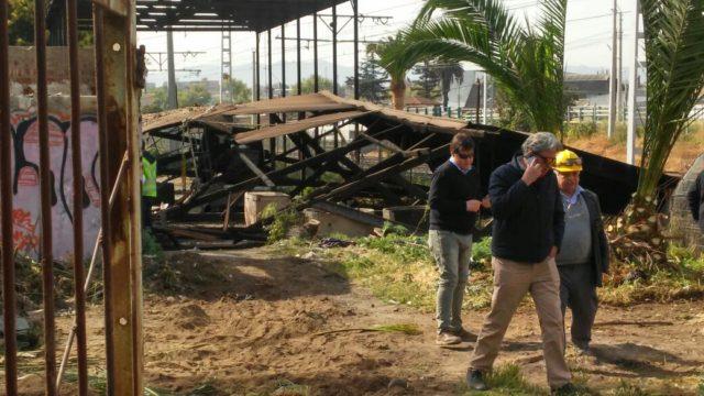 Dos personas caen de galpón a seis metros de altura en comuna de Quilpué