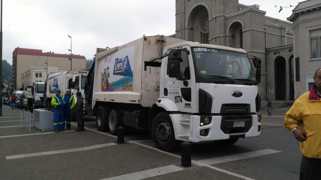 Nuevo camión recolector de basura