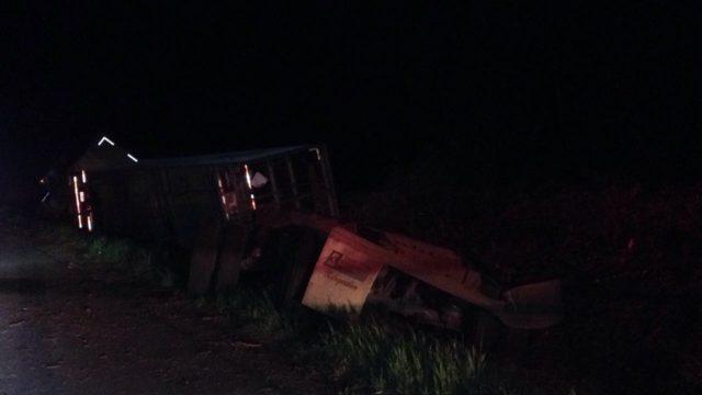 Fatal accidente se registró la madrugada de este martes en Pidima y dejó al menos un muerto