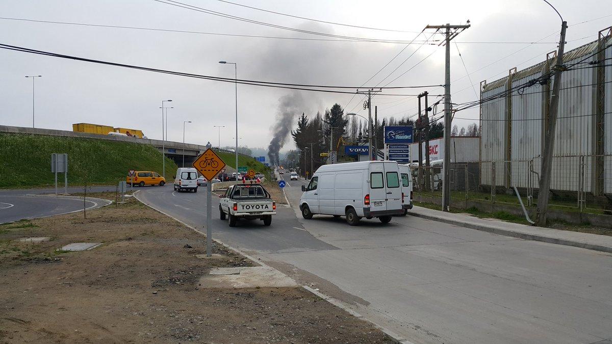 Barricadas sector Palomares de Concepción