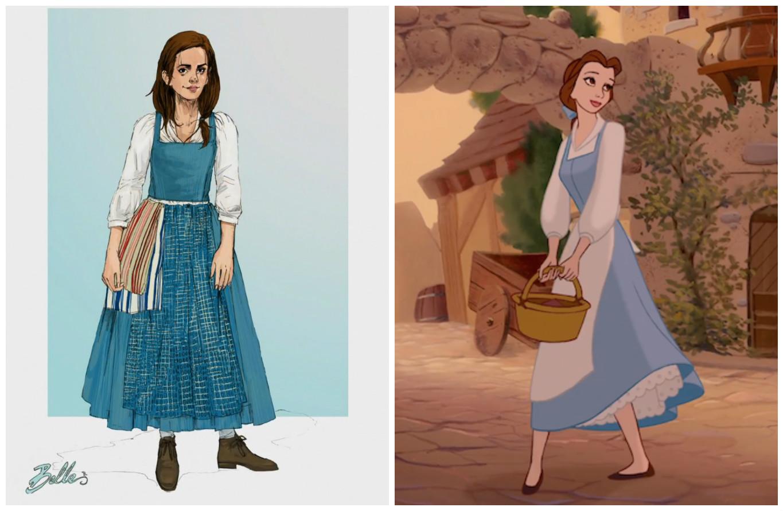 """Revelan el vestido que usará Emma Watson en """"La bella y la bestia"""""""