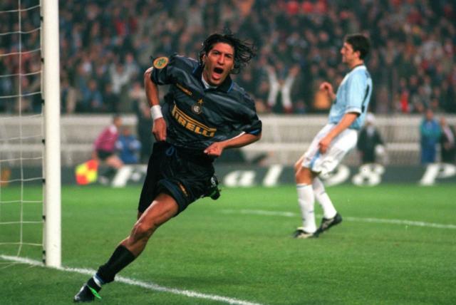 Zamorano en el Inter