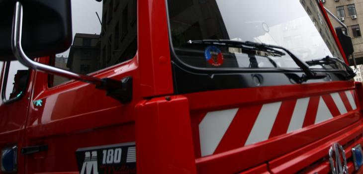 La insólita infracción de tránsito que cursaron a Bomberos que iban a rescate en San Felipe