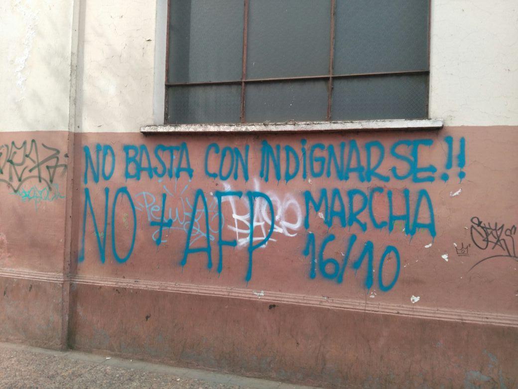 definen trayectos para marcha No + AFP en La Araucanía