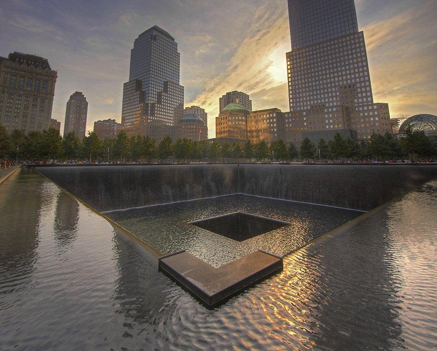 El monumento a las víctimas de 911