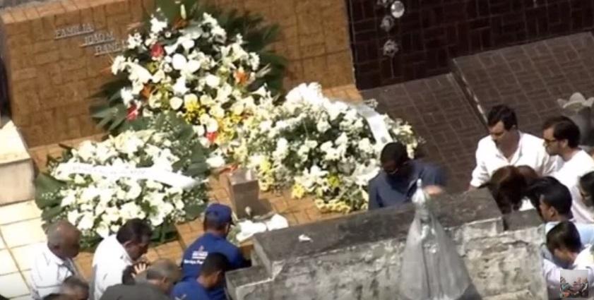 Entierran a Domingos Montagner, actor brasileño que murió grabando una teleserie