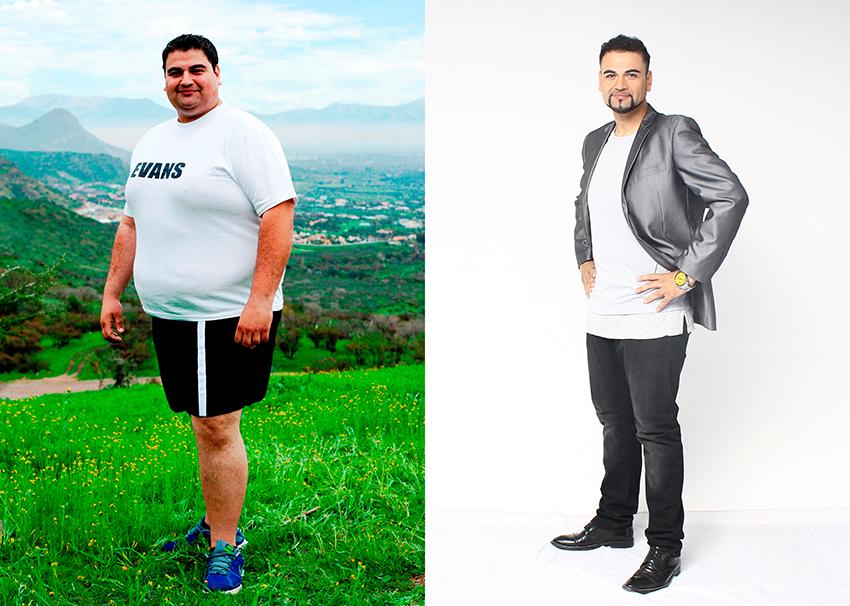 Evans baja de peso
