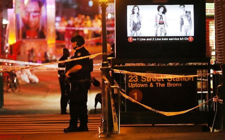 EXPLOSIÓN EN NUEVA YORK: policías en zona restringida