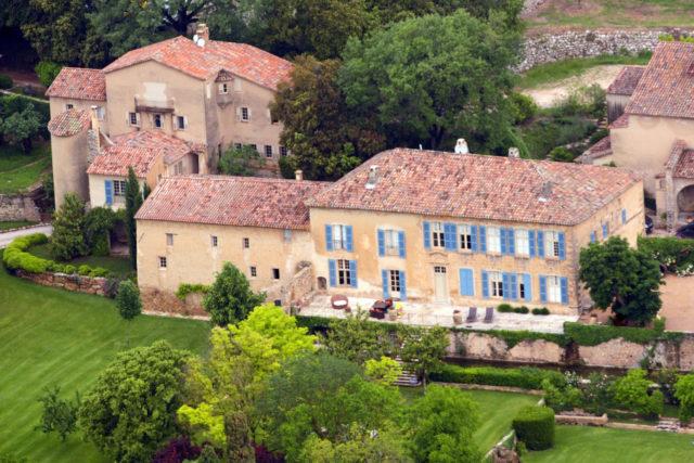 Propiedad Jolie-Pitt en Francia