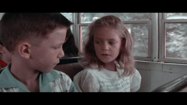 Hanna Hall como la pequeña Jenny en Forrest Gump
