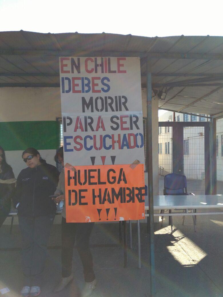 HUELGA DE HAMBRE SENAME