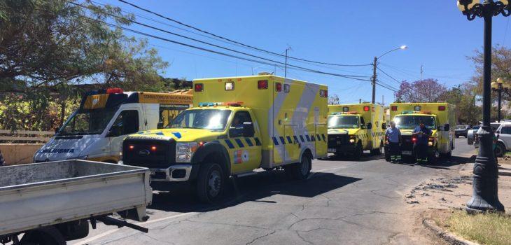 Accidente deja varios menores heridos en Pica
