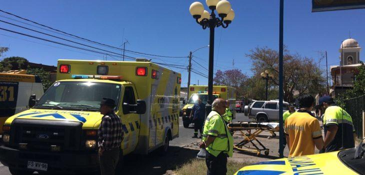 Accidente en juego inflable deja 16 lesionados