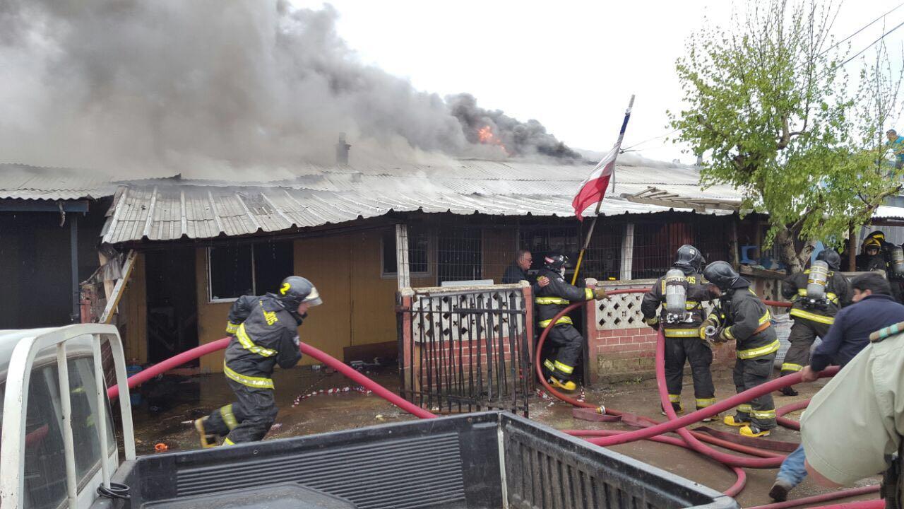 incendio Angol