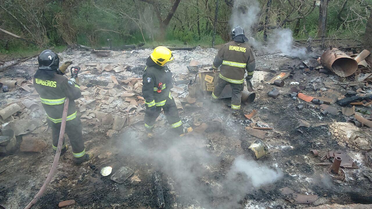 Incendio en Angol