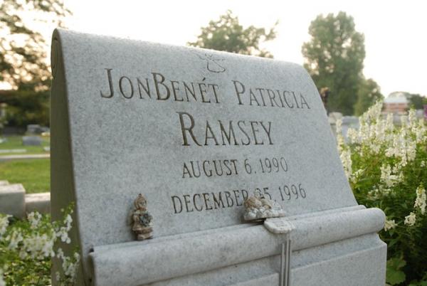 La tumba de Jonbenét