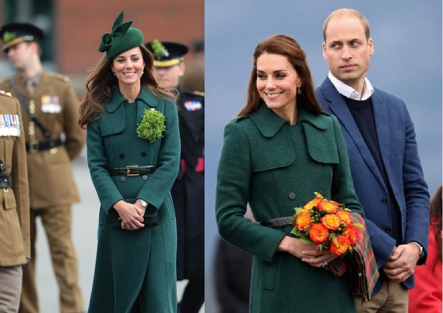 Kate en 2014 y 2016