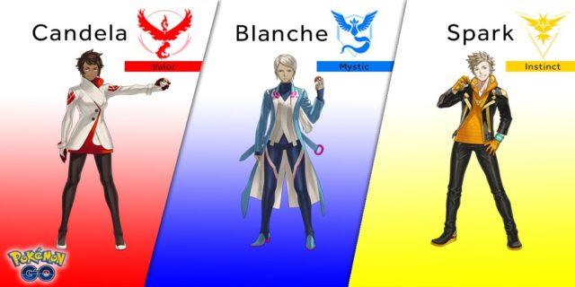 lideres de pokemon go