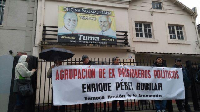 Manifestación DDHH en Temuco 2