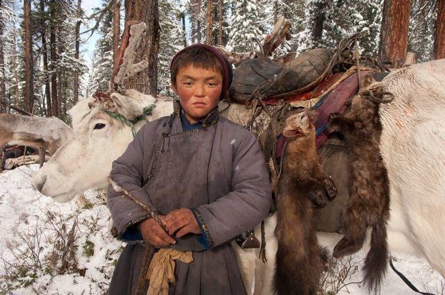 Muestra fotográfica sobre la vida de la tribu Dukha