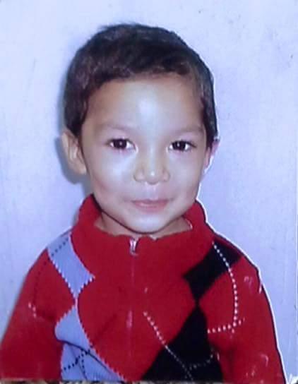 Ángel Márquez de 4 años