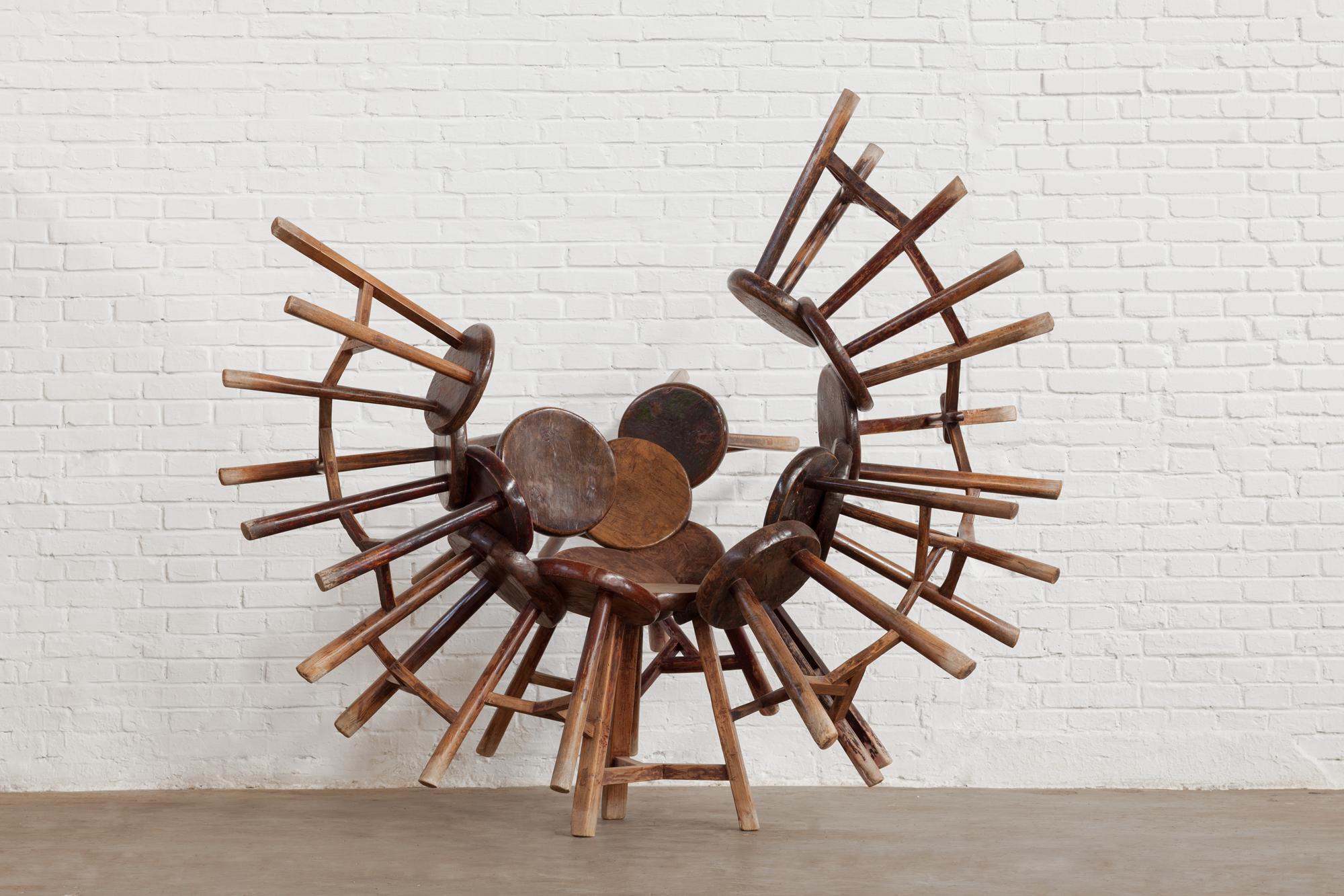 Exposición de Ai Weiwei en Palacio Strozzi.