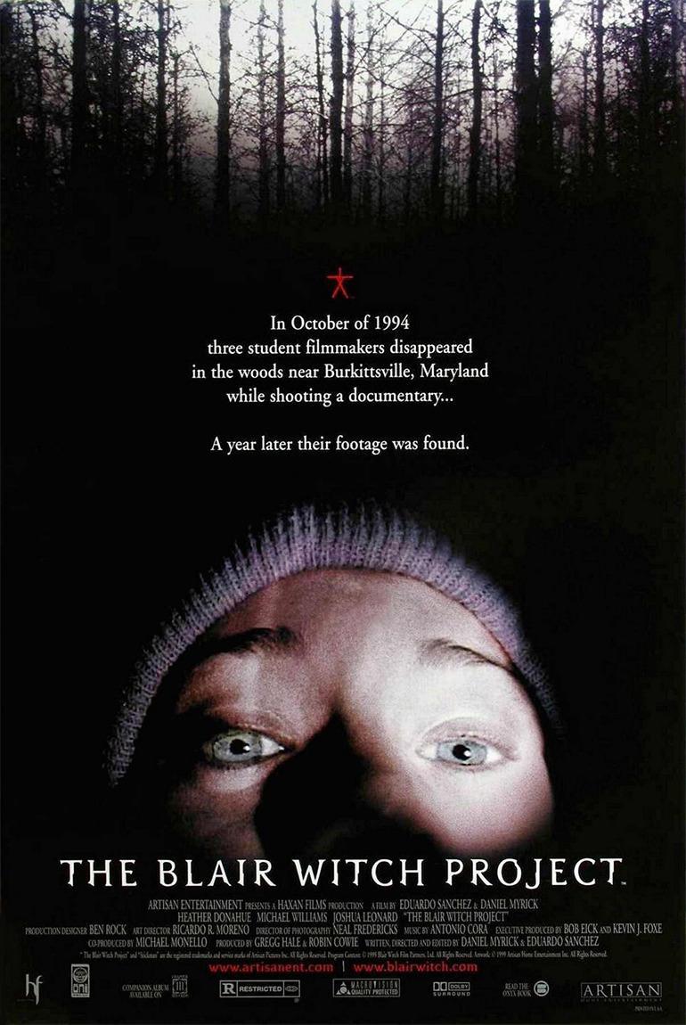 Poster de El proyecto de la Bruja de Blair.