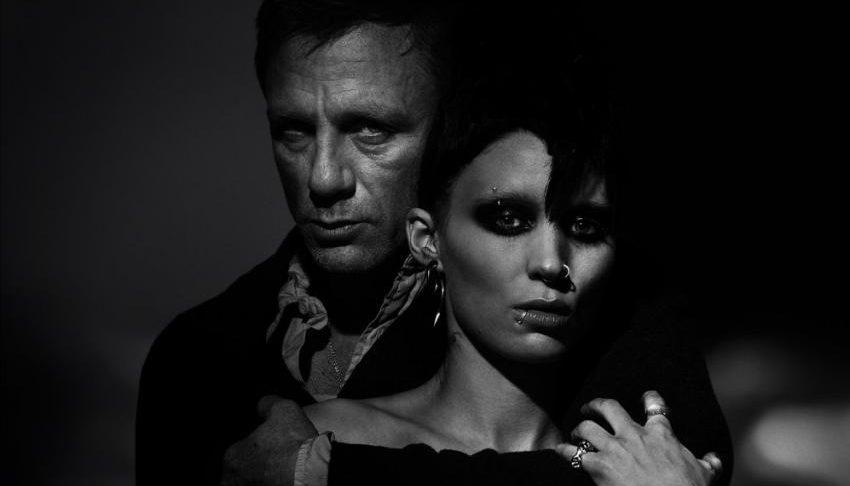 """Daniel Craig y Rooney Mara en """"La chiica del Dragón Tatuado"""""""