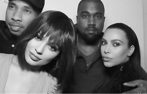 Tyga, Kylie, kanye y Kim