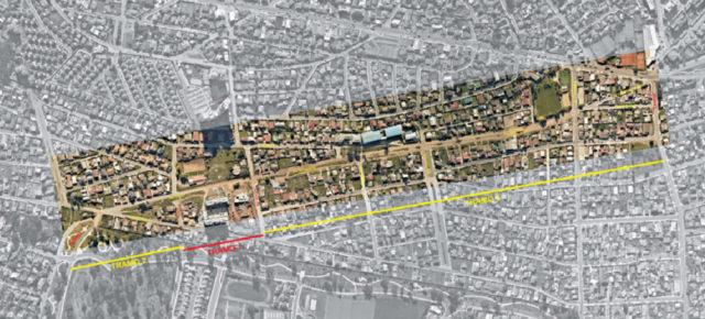 Trazado propuesto para construcción de nueva avenida entre Concón y Viña del Mar