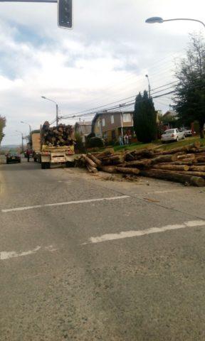 Violento accidente se registró la tarde de este miércoles en Valdivia: no dejó lesionados