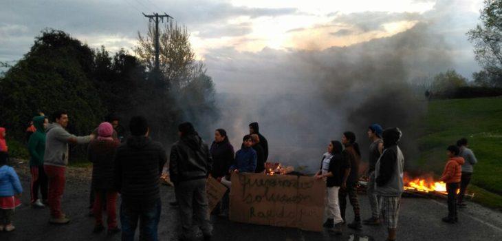 Toma de ruta en Osorno