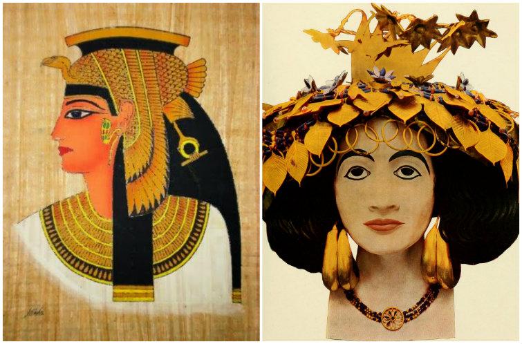 Cleopatra y Puabi de Ur usaban labios rojos
