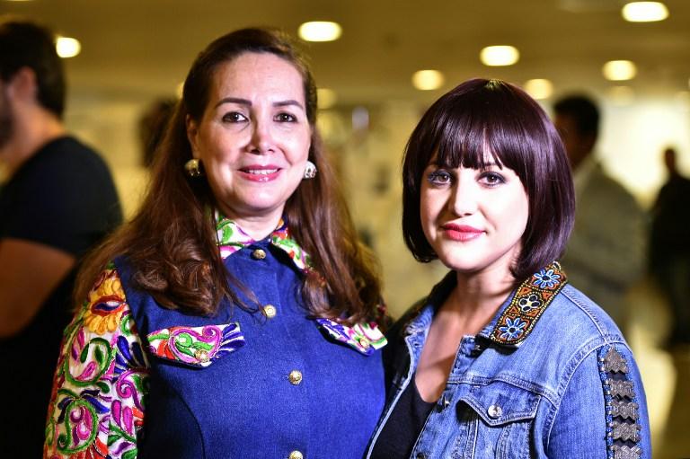 Suzan Farhoud (L) y Leen Al-Shishakly | AFP