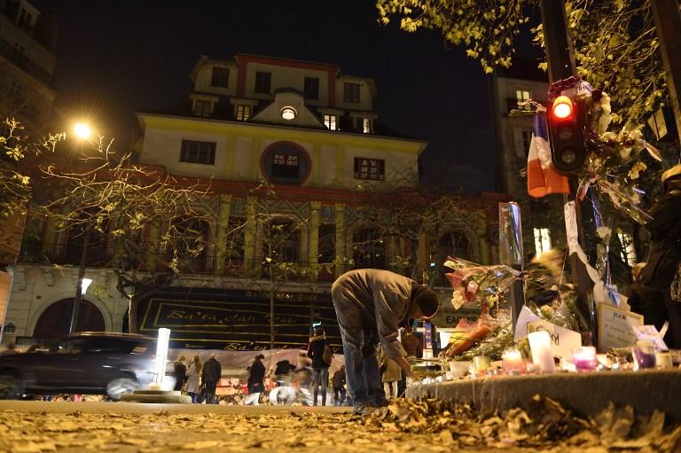 23 de noviembre: homenajes a las víctimas del atentado al Bataclan