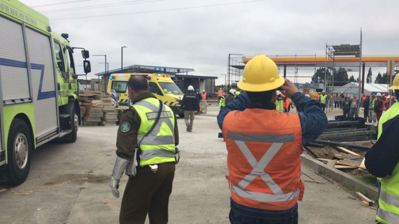 Una persona murió tras electrocutarse en servicentro de Puerto Montt