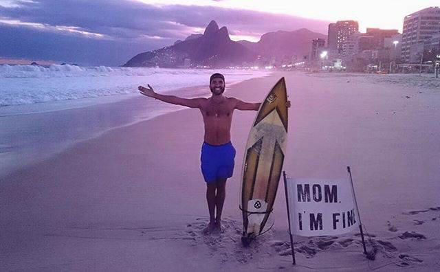 Los mensajes de Jonathan Quiñonez a su madre durante sus vacaciones