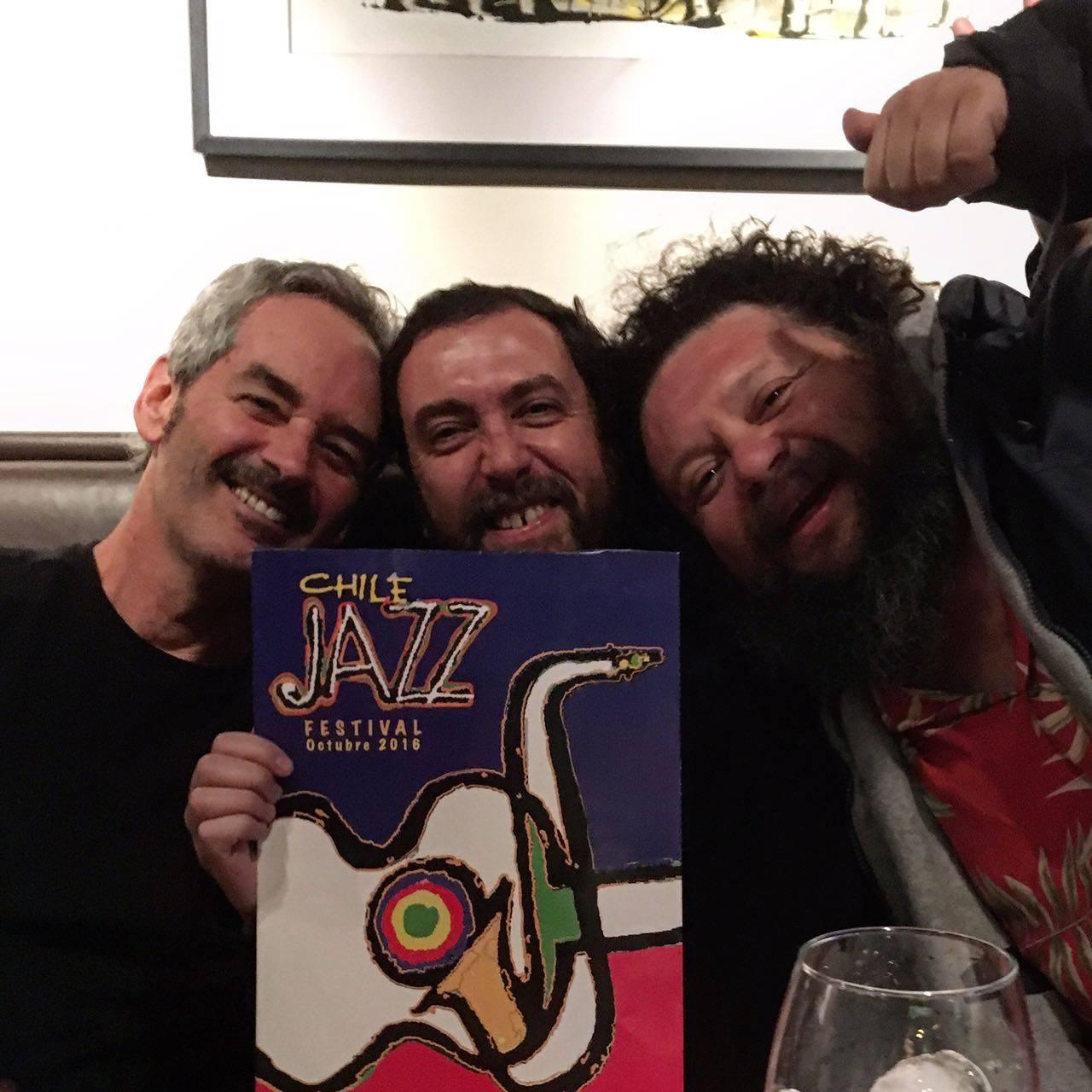 Algunos de los invitados del segundo  Festival Chile Jazz
