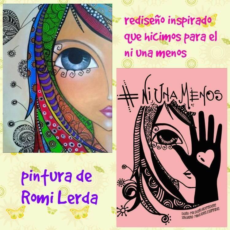 Cómo se hizo la ilustración de #NiUnaMenos | Facebook